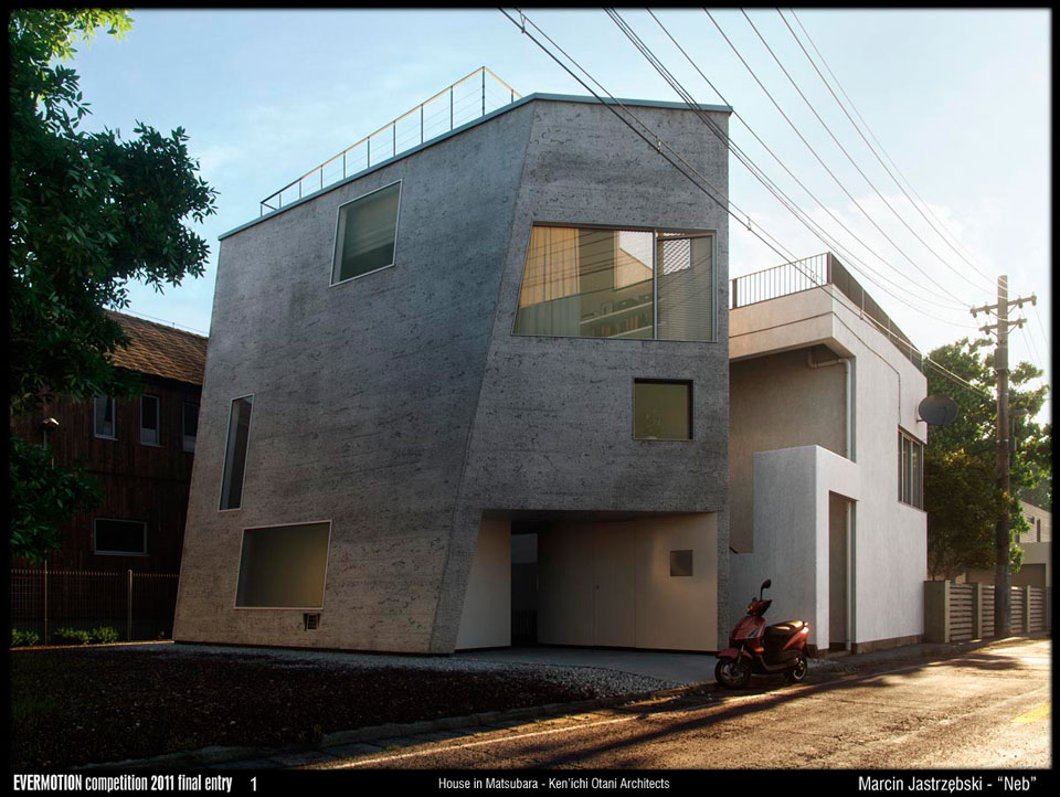 Making of House in Matsubara - Kenichi Otani Architects - Evermotion